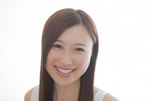 歯が白くてステキな笑顔