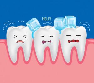 知覚過敏で浸みる歯たち