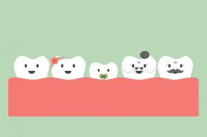 大人になっても乳歯が抜けない大人乳歯