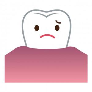 黒ずみが気になる歯茎