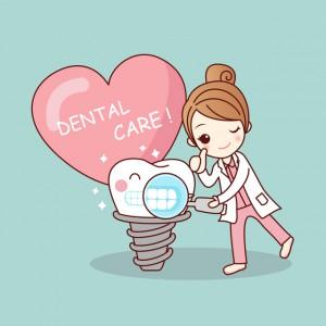 歯医者で黄ばみを取って白くなった差し歯