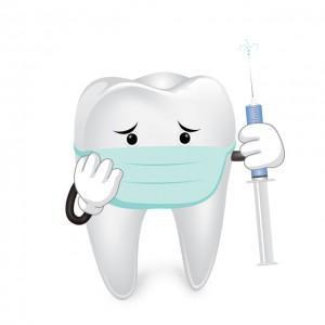 麻酔による副作用と痛みが心配な虫歯治療