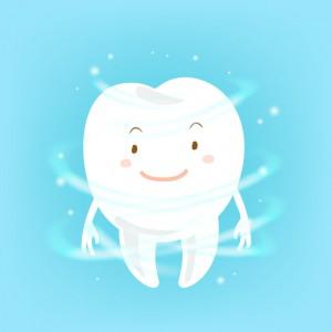 自然に再生する力がある歯のエナメル質