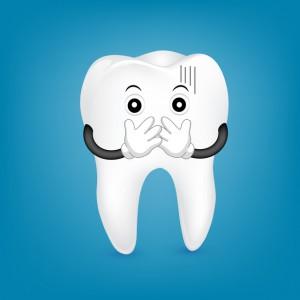 虫歯が完治しないことを知った歯