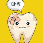 放置していた虫歯が原因で歯が折れた場合