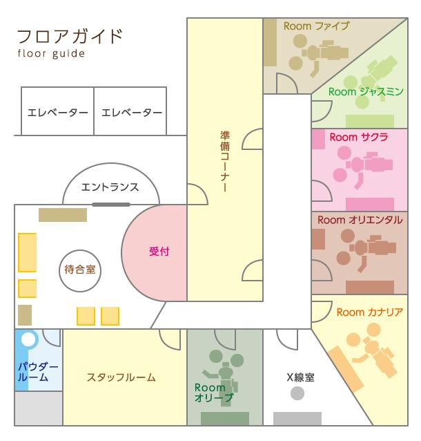 大阪でホワイトニング スマイリー歯科の院内紹介