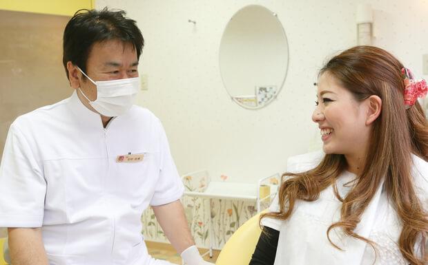 治療終了後、ガスを止め、鼻マスクを取って、自然呼吸します